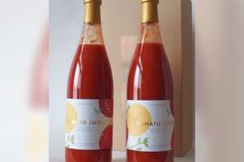 【完熟】フルーツトマトのトマトジュース(710ml×2本 ギフトセット)