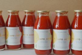 【完熟】フルーツトマトのトマトジュース(180ml×6本)