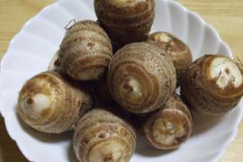 自然農法*ごじ(硬い部分)がひとつもない赤里芋(2kg)