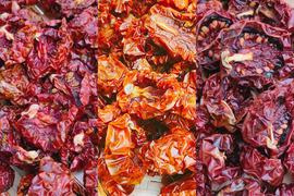 【熱海産♨農薬不使用】 無添加ドライミニトマト 3種食べ比べセットL