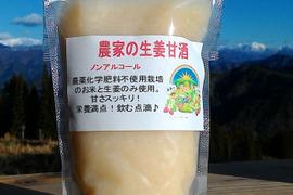 【栄養満点!】すっきりした甘さ!生姜甘酒(160ml×6)