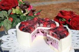 【冷凍便】濃厚ブルーベリーチーズケーキ『ベリーベリー』