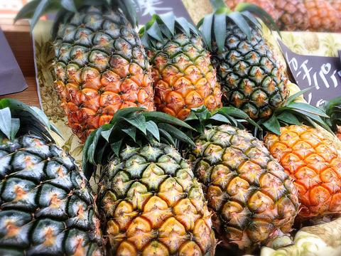 【残り僅か】無農薬パイナップル(ピーチパイン) 小玉 4個セット