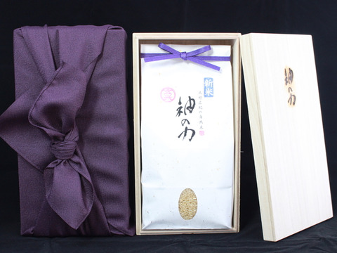 【贈答用】30年産「神の力」玄米1kg