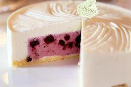 【冷凍便】濃厚ブルーベリーチーズケーキ『6月の雪』