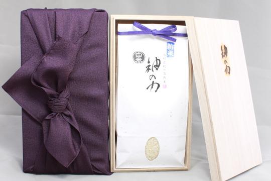 【贈答用】29年度産「神の力」白米1kg
