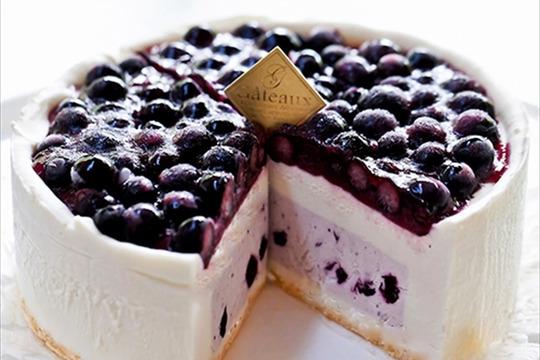 【冷凍便】濃厚ブルーベリーチーズケーキ『ナパージュ』