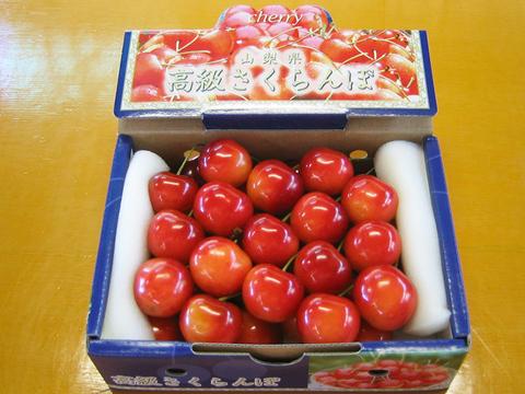 【減農薬】さくらんぼ 約300g 2~3L以上 極上品 化粧箱 手詰め